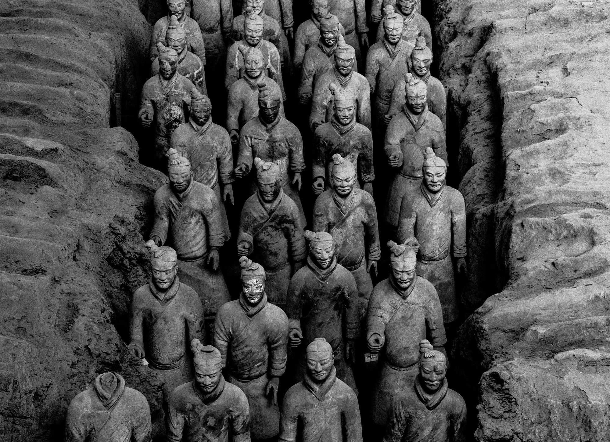 March of the terracotta warriors